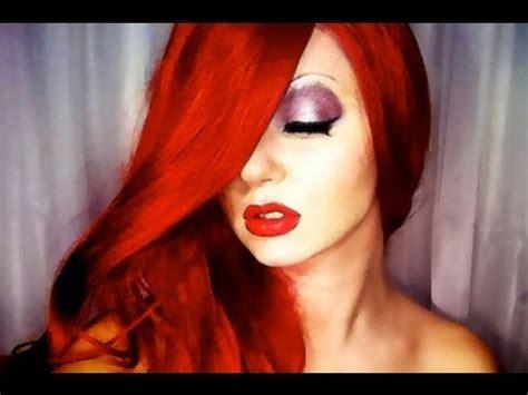 jessica rabbit makeup tutorial jessica rabbit makeup tutorial youtube