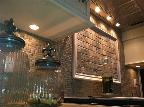 brilliant charming stone subway tile backsplash stone 24 best ideas about brilliant backsplashes on pinterest