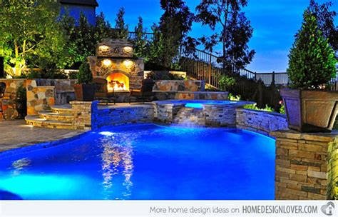 15 Amazing Backyard Pool Ideas Home Design Lover Big Backyard Pools