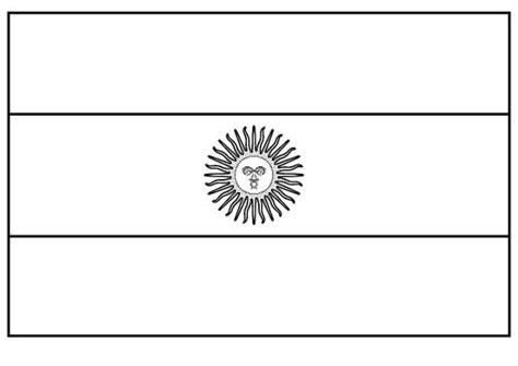 bandera de argentina para colorear para imprimir gratis imagines de la bandera argentina para pintar imagui