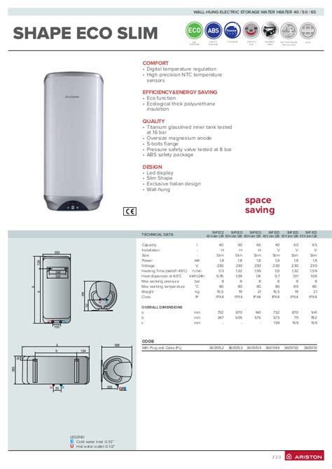 Water Heater Ariston Slim 30 Dl eco slim dosi significato the pharmacy worth your