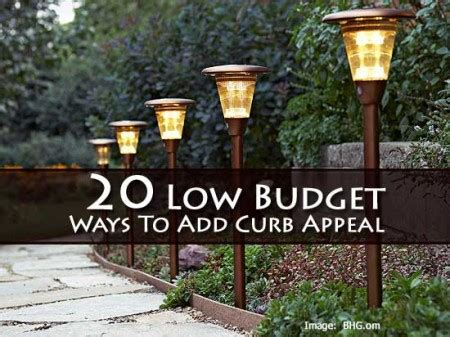 adding curb appeal on a budget 20 low budget ways to add curb appeal