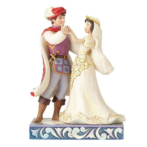 wedding statue disney traditions snow white and prince wedding statue