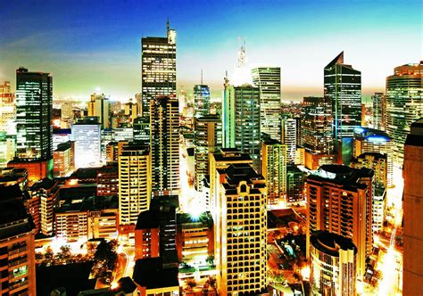 Manila Philippines Search Best Photos Skyline In Metro Manila Philippines 2016