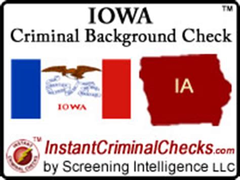 Free Iowa Criminal Record Iowa Criminal Background Checks For Pre Employment
