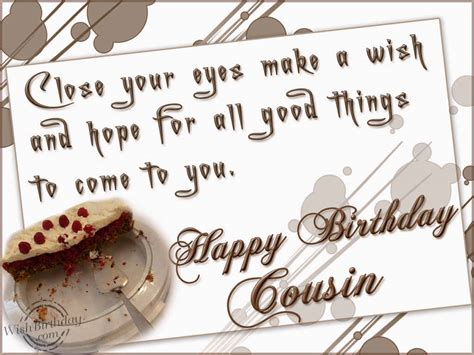 Happy Birthday Wishes For Cousin 1000 Images About Birthday Wish For Cousins On Pinterest