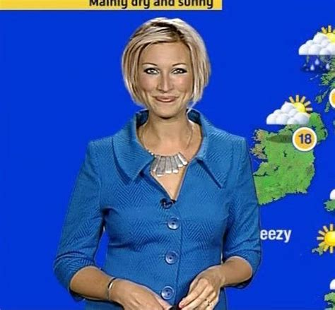 short blonde hair woman weather channel becky mantin sexiest presenters on television radio