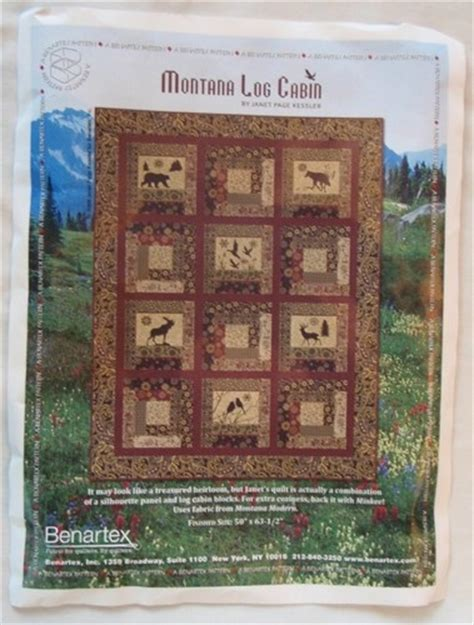 Log Cabin Quilt Kits by Montana Log Cabin Pre Cut Quilt Kit Quilting
