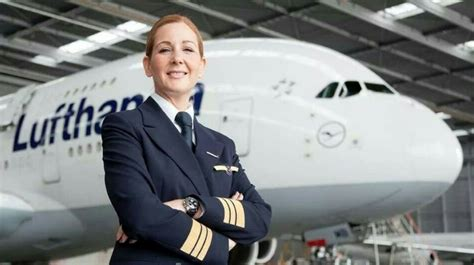 commercial woman pilot lufthansa group female pilots take off aviation news