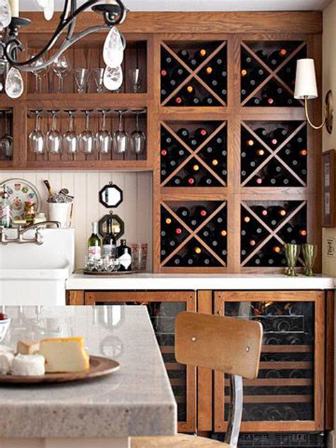 kitchen cabinet wine storage 10 built in diy wine storage ideas home design and interior