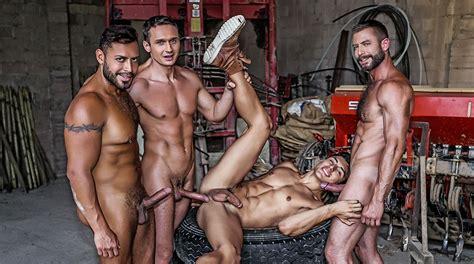 Gay boy gang bang