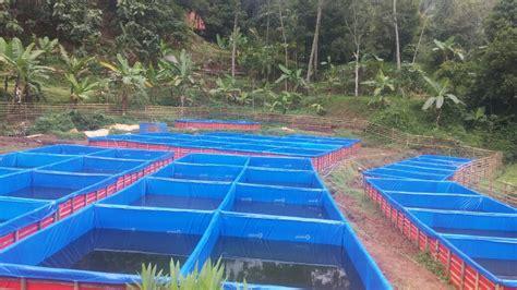 Jual Kolam Terpal Padang jual kolam terpal budidaya ikan berbagai ukuran e wak