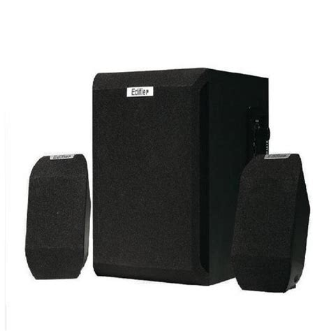 buy edifier x100 2 1 multimedia speaker black at