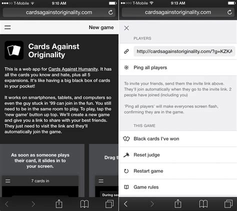 cards against humanity android you can now play cards against humanity for free on your phone business insider
