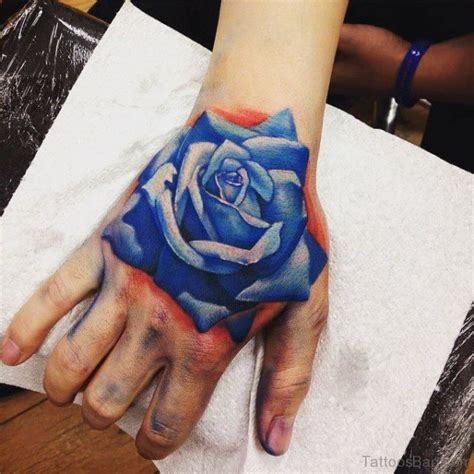blue rose tattoo 30 fantastic blue tattoos on