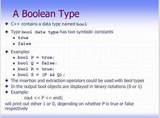 Chap 4 c++ C- Boolean Function Examples