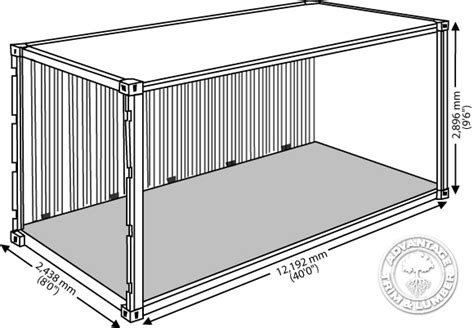 shipping container dimensions in meters search