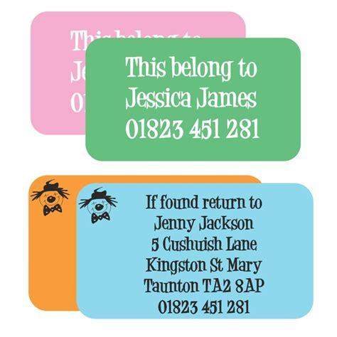Address Label Stickers