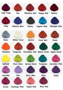 hair dye colors directions hair dye