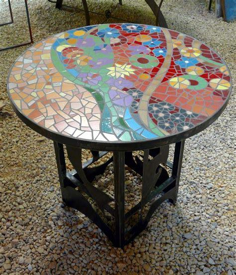 table en mosaique by hourcq mosaique