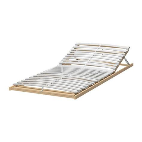bed slats ikea sultan lerb 196 ck slatted bed base adjustable twin ikea