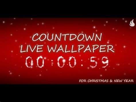 wallpaper christmas countdown free countdown live wp appbrain android market