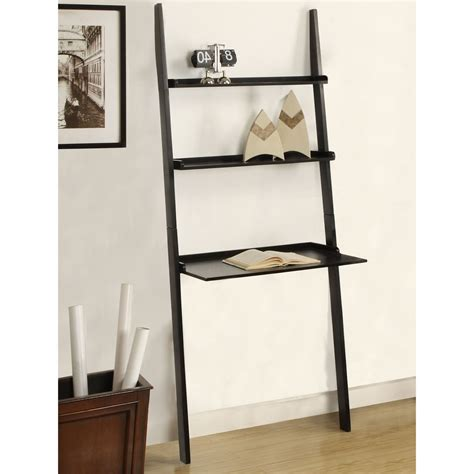 ladder shelf desk white ladder desk ikea roselawnlutheran