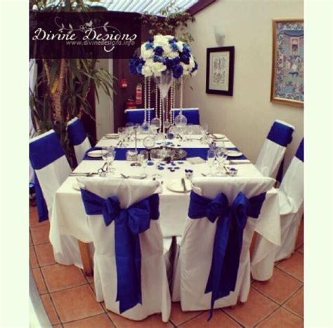 133 best images about Royal Blue party Decor on Pinterest