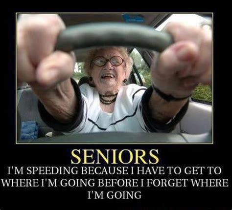 Seniors speeding