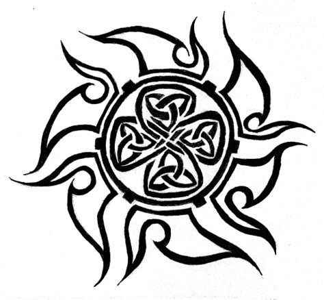 celtic sun tattoo by mordredlefay on deviantart