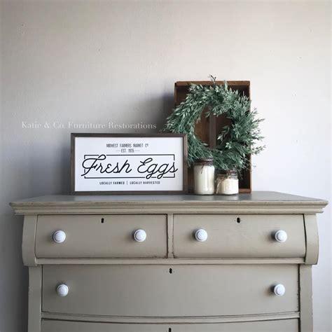 Dresser in Millstone Milk Paint   General Finishes Design