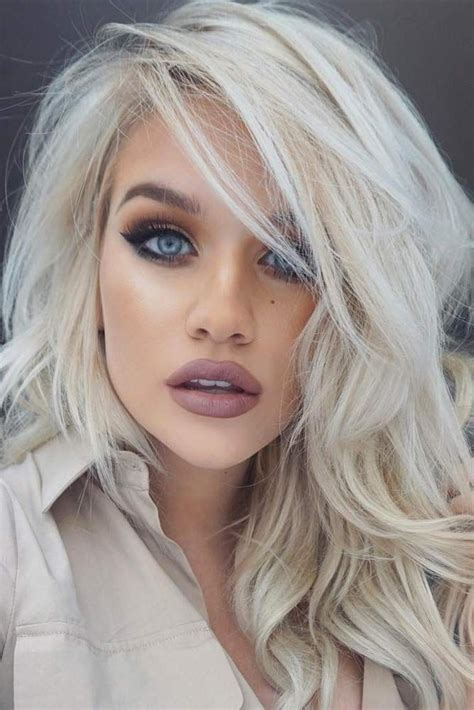 platinum color 50 platinum hair shades and highlights for 2019