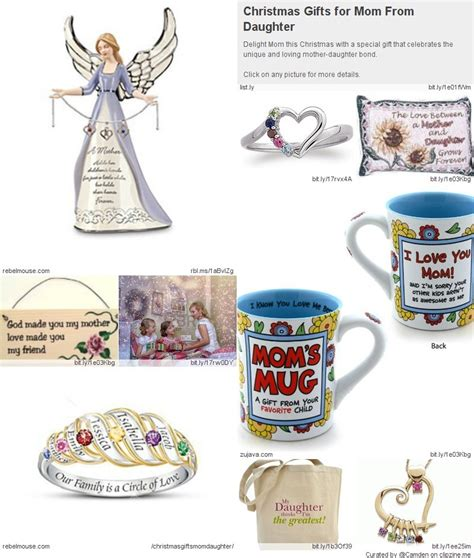 christmas gifts for mom from daughter great christmas gifts from daughter to mother