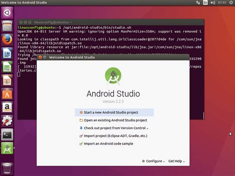 install android studio linux how to install android studio on ubuntu 16 04 xenial xerus linux linuxconfig org