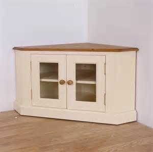 Torino Bedroom Furniture Solid Pine Painted Glazed Tv Corner Unit