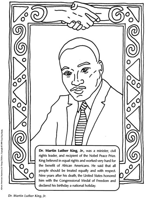 Black History Month Color Pages Crafts Blank Title by Black History Month Color Pages