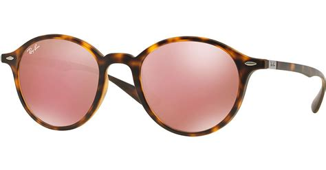 0204s Pink Pink Mirror Lens ban classic sunglasses with mirror lenses in pink lyst