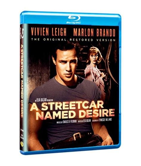 libro a streetcar named desire a streetcar named desire english blu ray buy online at best price in india snapdeal