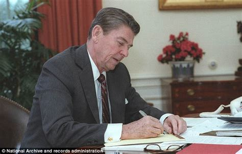 ronald reagan haircut ronald reagan s letter to son michael on the eve of