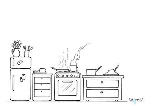 jeux sur la cuisine coloriage cuisine momes