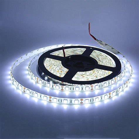 5m led 5050 ip65 waterproof 60led m dc12v