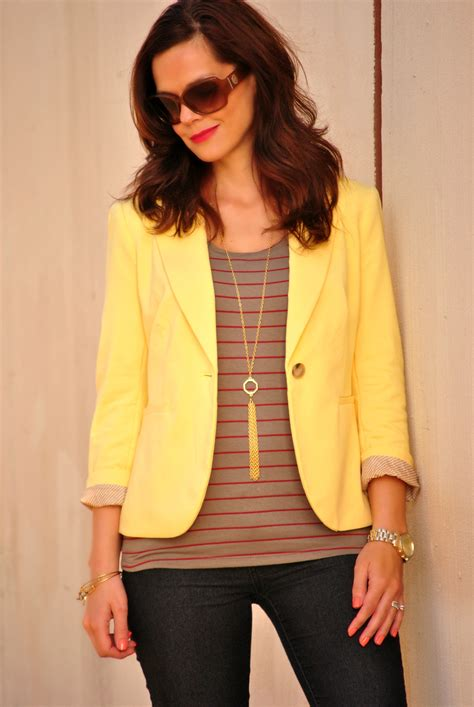 Jumpsuit 16558 Blue yellow blazers for juniors fashion ql