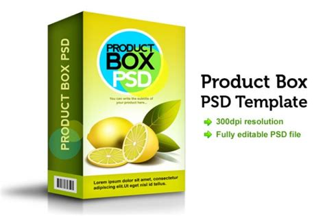 product layout psd product box psd template psd file free download