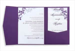 pocket wedding invitation template wedding invitation templates in word format wedding