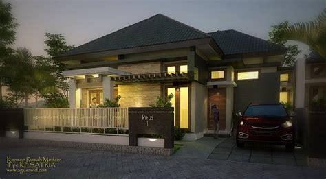 nge trend tak depan rumah minimalis 2 lantai lebar 6 meter rumah tinggal tropis modern 2014 tipe kesatria lahan 12