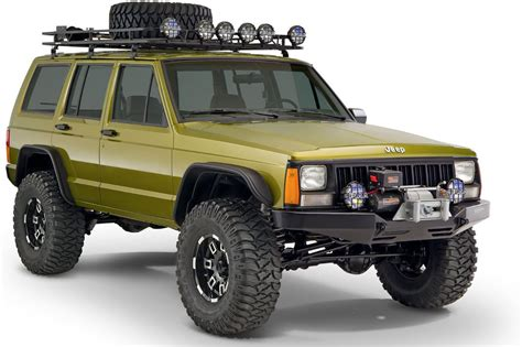 jeep xj bushwacker 10922 07 flat style flares for 84 01 jeep