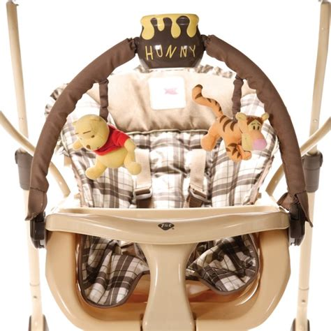 winnie the pooh infant swing disney winnie the pooh all in one baby swing sw087aku