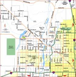 Phoenix Area Map by Phoenix Map Tourist Attractions Map Travel Holiday