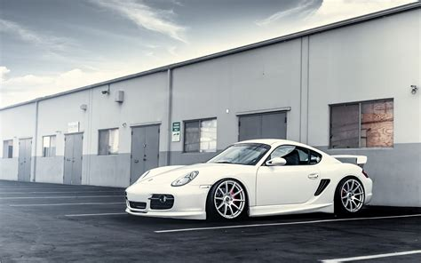 Car White Wallpaper by Porsche White Car Wheels Tuning 16263 Wall Paper