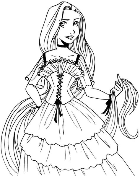 princess coloring pages not disney princess rapunzel coloring pages face az coloring pages